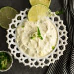 This spicy jalapeno aioli sauce is easy enough for a quick dressing and a fabulous dip for the barbeque nights. Made with simple pantry staple ingredients.