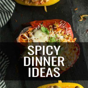 Spicy dinner ideas