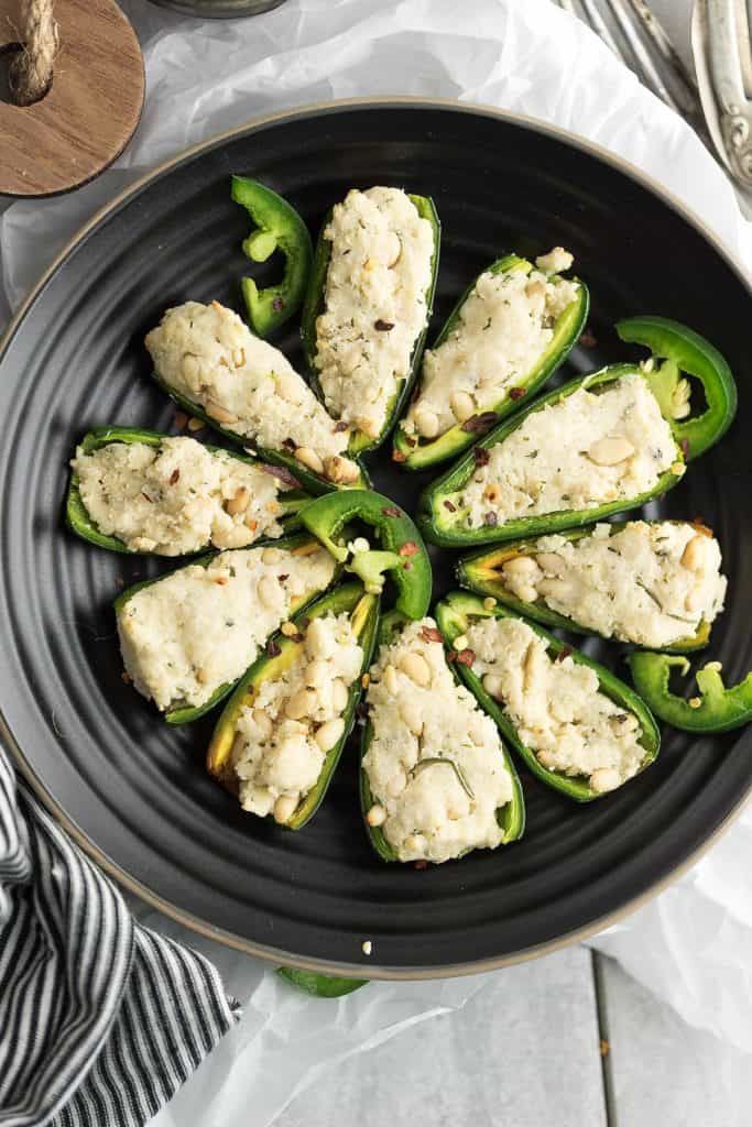 Need a jalapeno recipe that is dairy-free and vegan? Try Jalapeno poppers without cream cheese recipe, simple to make, and tastes excellent.