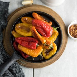 The roasted mini peppers recipe is simple and easy. Plus, it's a delicious effortless dish that's rightly tender and loved by everyone.
