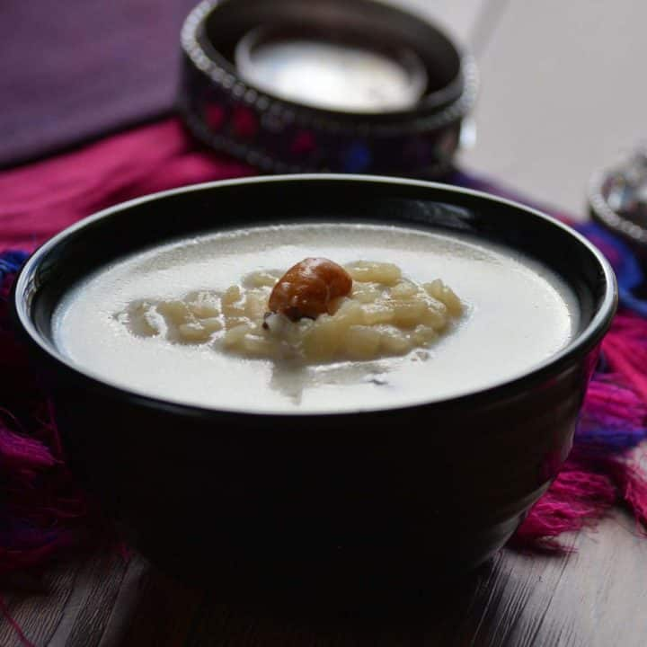 Aval Payasam is considered to be dessert which is served at the end of the course.