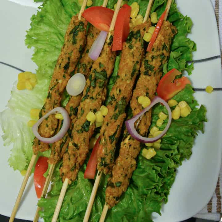 seekh kabab is delicious made with warm spices