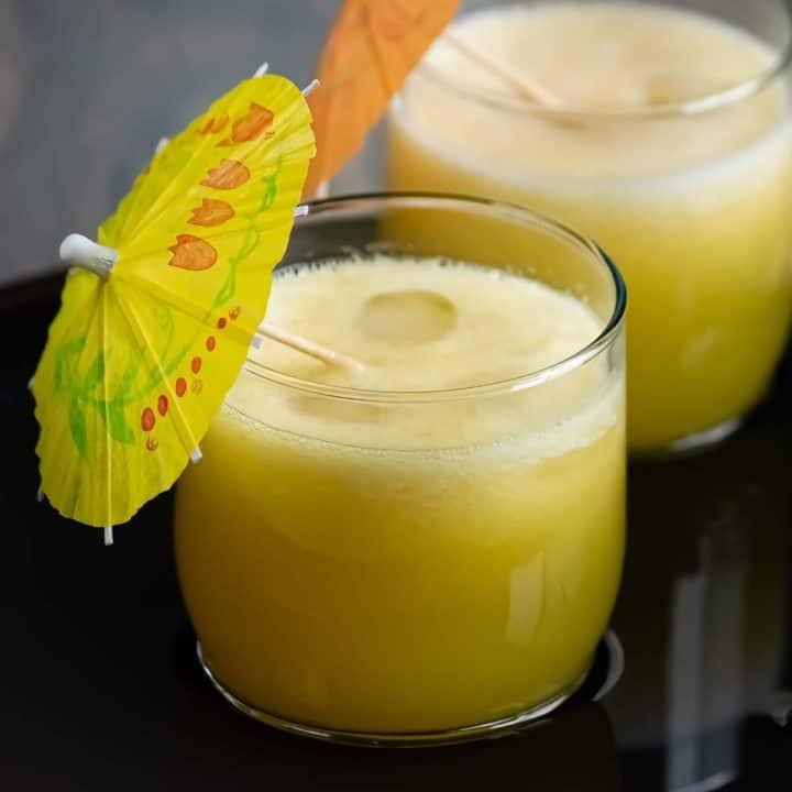 Homemade Fresh pineapple juice