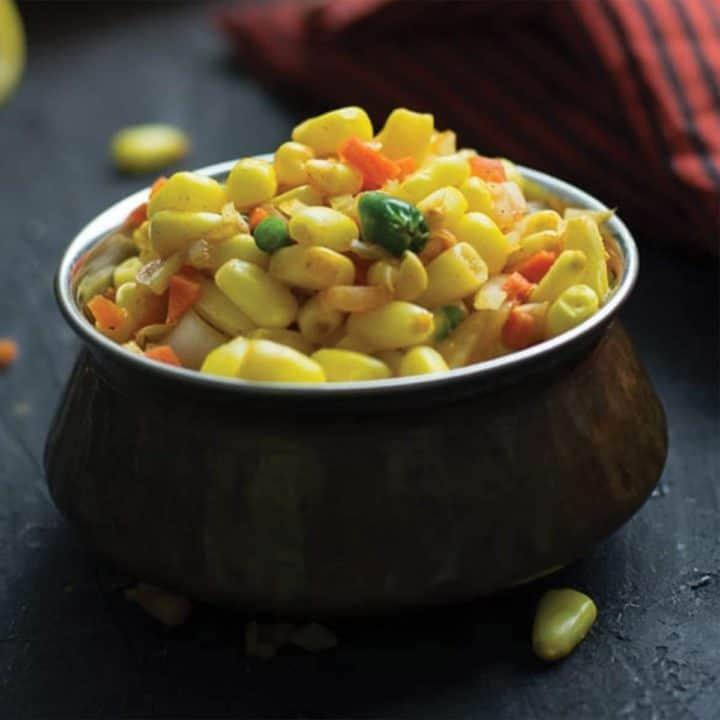 Indian corn salad