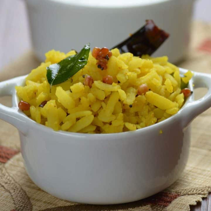 Lemon Poha recipe is a great breakfast recipe which gives full feeling and can also be served in the evening for the kids