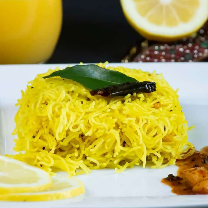 The warm bright color and warm spices of Lemon Semiya are sure to start the day with the Zing.