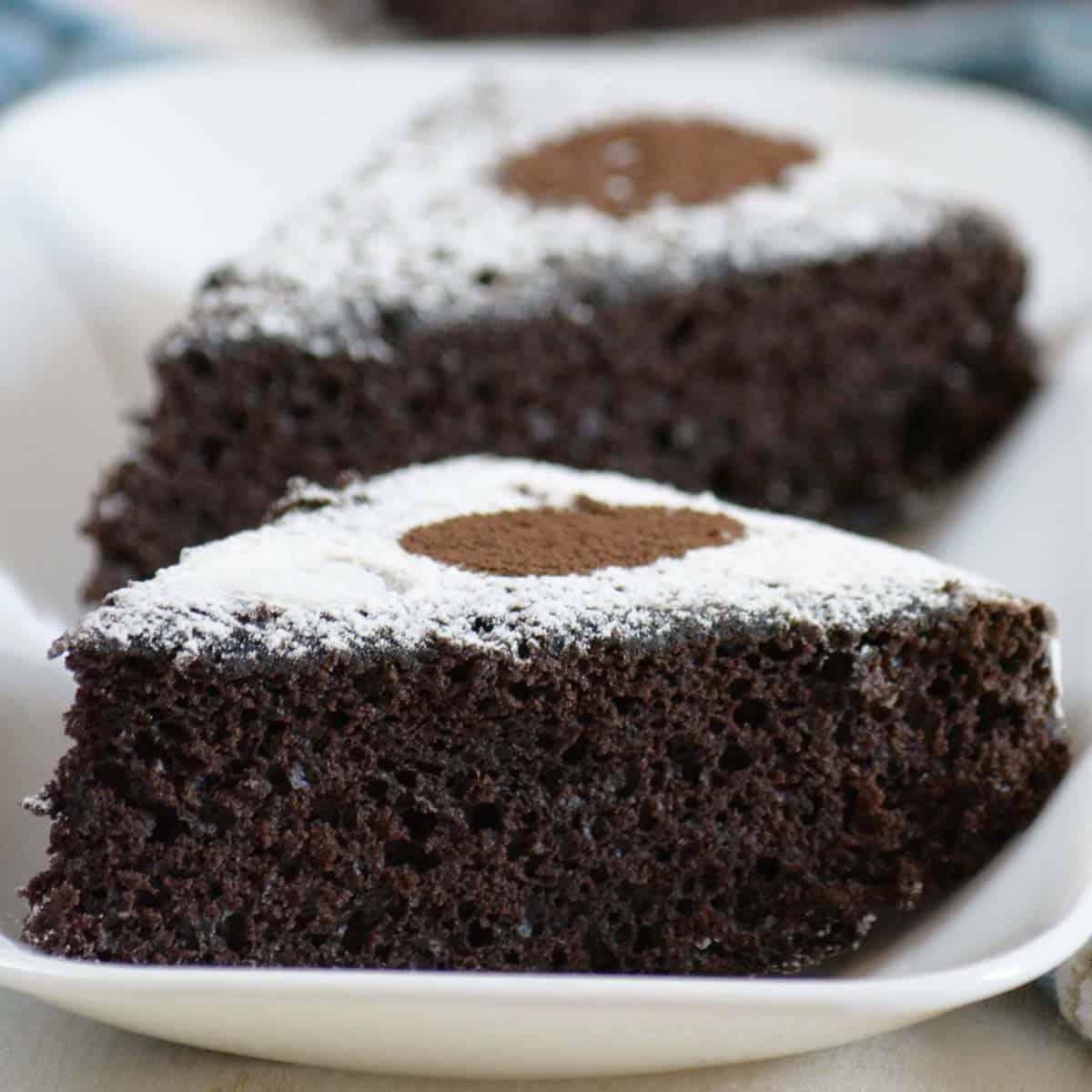 Vegan Chocolate Cake tasty