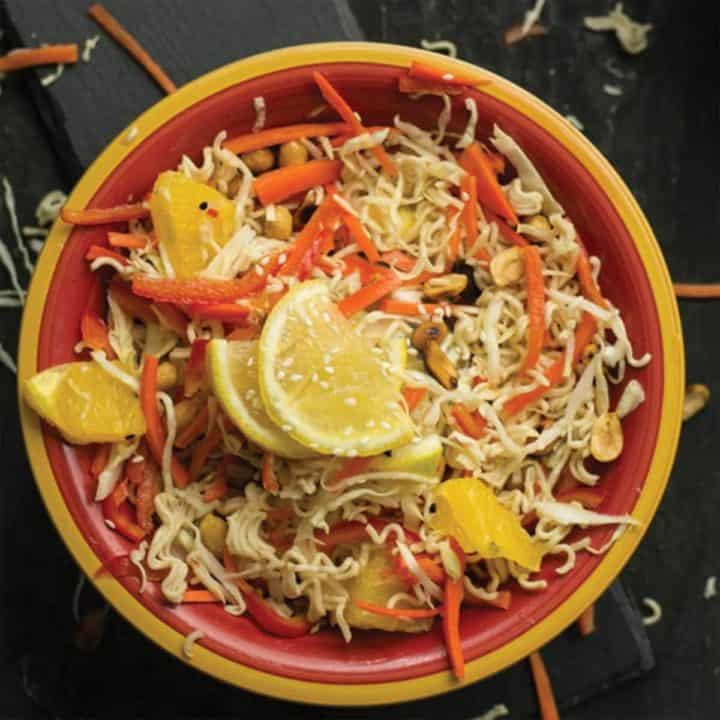 spicy Asian cabbage salad
