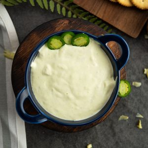 Jalapeno sour cream dip is extremely delicous to taste with chips or nachos. Made with under 5 minutes effortlessly.